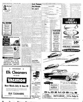 The Algona Upper Des Moines from Algona, Iowa on July 7, 1955 · Page 30