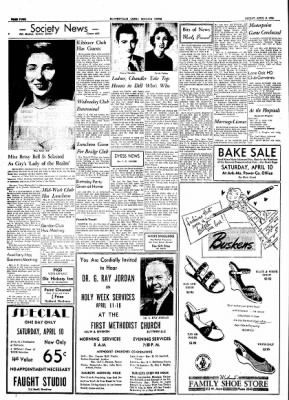 The Courier News from Blytheville, Arkansas on April 9, 1954 · Page 4