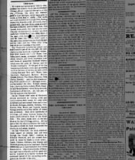 Newspaper description of the city of Chicago as it stood before the Great Fire of 1871