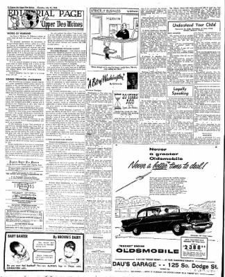 The Algona Upper Des Moines from Algona, Iowa on July 21, 1955 · Page 18