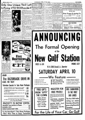 The Courier News from Blytheville, Arkansas on April 9, 1954 · Page 11