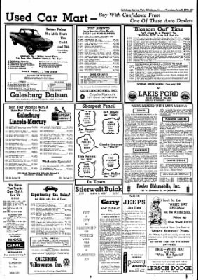 Galesburg Register-Mail from Galesburg, Illinois on June 7, 1973 · Page 39