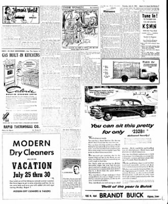 The Algona Upper Des Moines from Algona, Iowa on July 21, 1955 · Page 47