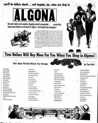 The Algona Upper Des Moines from Algona, Iowa on July 28, 1955 · Page 20