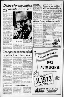 The Pantagraph from Bloomington, Illinois on January 7, 1973 · Page 8