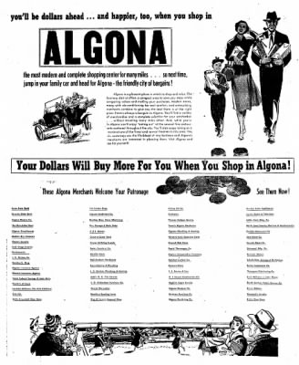 The Algona Upper Des Moines from Algona, Iowa on July 28, 1955 · Page 49