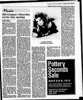 Santa Cruz Sentinel from Santa Cruz, California on April 4, 1986 · Page 67