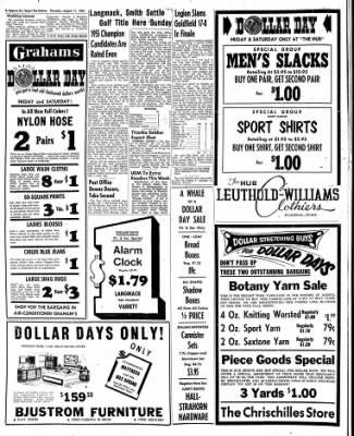 The Algona Upper Des Moines from Algona, Iowa on August 11, 1955 · Page 8