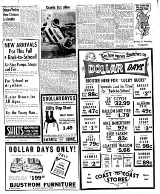 The Algona Upper Des Moines from Algona, Iowa on August 11, 1955 · Page 14