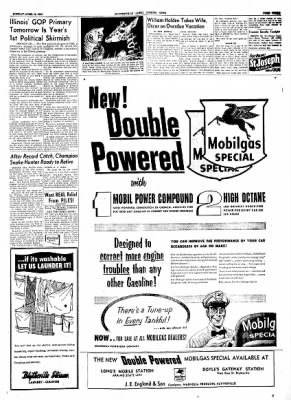 The Courier News from Blytheville, Arkansas on April 12, 1954 · Page 3