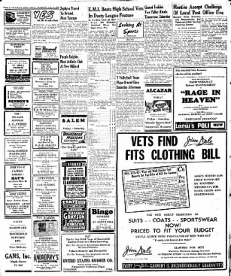 Naugatuck Daily News from Naugatuck, Connecticut on January 16, 1947 · Page 6