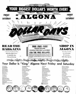 The Algona Upper Des Moines from Algona, Iowa on August 11, 1955 · Page 50