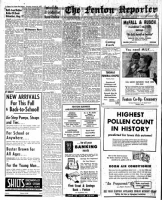 The Algona Upper Des Moines from Algona, Iowa on August 25, 1955 · Page 10
