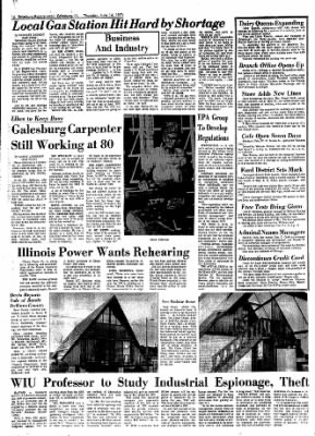 Galesburg Register-Mail from Galesburg, Illinois on June 14, 1973 · Page 14