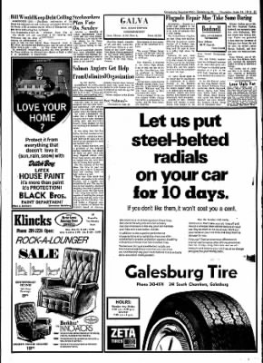 Galesburg Register-Mail from Galesburg, Illinois on June 14, 1973 · Page 21