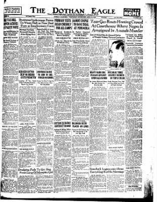 The Dothan Eagle from Dothan, Alabama on April 29, 1936 · Page 1