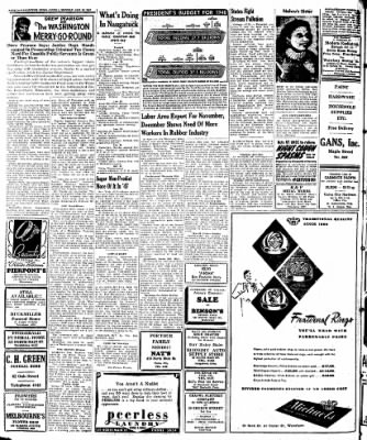 Naugatuck Daily News from Naugatuck, Connecticut on January 20, 1947 · Page 2