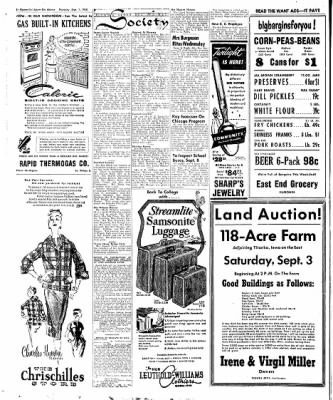 The Algona Upper Des Moines from Algona, Iowa on September 1, 1955 · Page 28