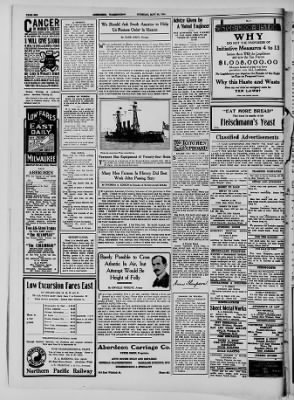 Aberdeen Herald from Aberdeen, Washington on May 26, 1914 · Page 6