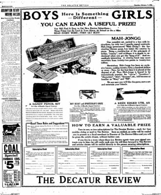 The Decatur Daily Review from Decatur, Illinois on February 6, 1924 · Page 30