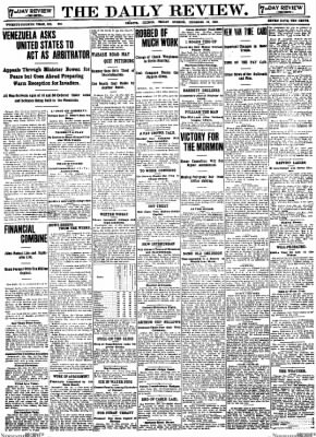 The Daily Review from Decatur, Illinois on December 12, 1902 · Page 1