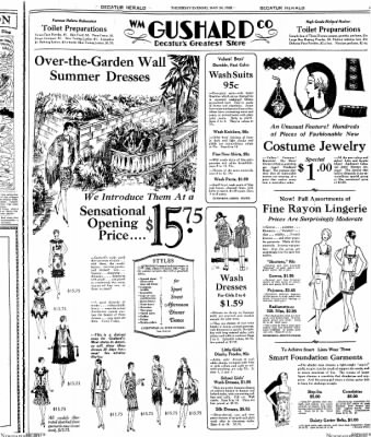 Decatur Evening Herald from Decatur, Illinois on May 24, 1928 · Page 7