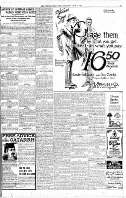 The Indianapolis Star from Indianapolis, Indiana on May 6, 1916 · Page 3