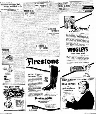 The Decatur Daily Review from Decatur, Illinois on February 14, 1924 · Page 3