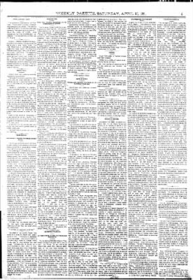 The Weekly Gazette from Colorado Springs, Colorado on April 30, 1881 · Page 5