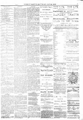 The Weekly Gazette from Colorado Springs, Colorado on May 28, 1881 · Page 7