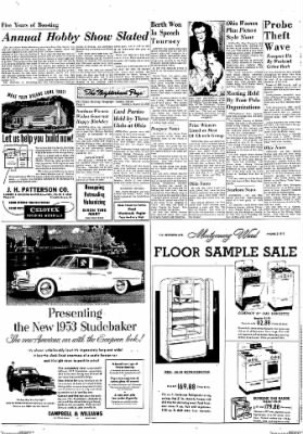 Dixon Evening Telegraph from Dixon, Illinois on March 3, 1953 · Page 2