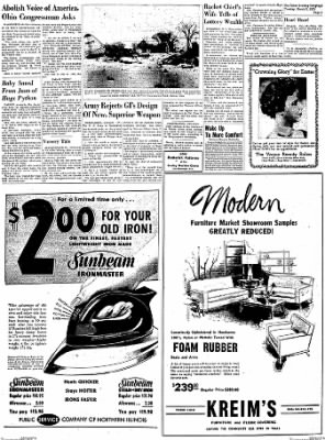 Dixon Evening Telegraph from Dixon, Illinois on March 3, 1953 · Page 7