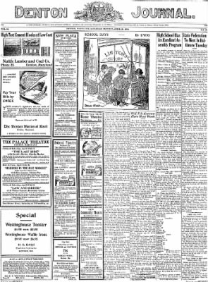 Denton Journal from Denton, Maryland on April 23, 1932 · Page 1