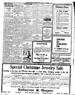 The News from Frederick, Maryland on December 9, 1921 · Page 13
