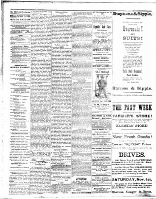 Chillicothe Morning Constitution from Chillicothe, Missouri on October 27, 1890 · Page 2