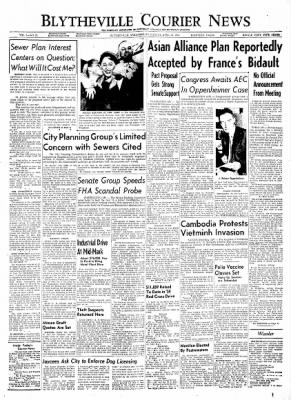 The Courier News from Blytheville, Arkansas on April 14, 1954 · Page 1