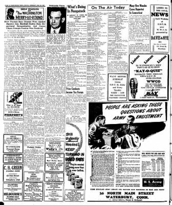 Naugatuck Daily News from Naugatuck, Connecticut on January 21, 1947 · Page 2