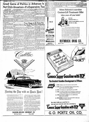 The Courier News from Blytheville, Arkansas on April 14, 1954 · Page 7
