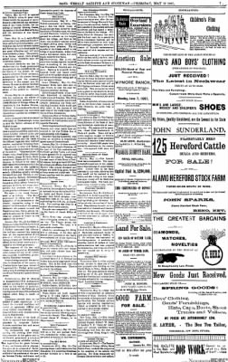 The Weekly Gazette And Stockman from Reno, Nevada on May 13