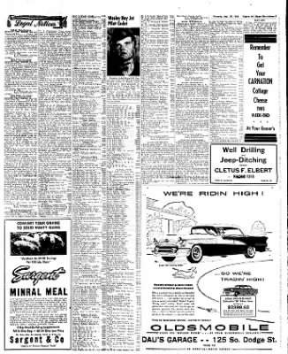 The Algona Upper Des Moines from Algona, Iowa on September 29, 1955 · Page 45