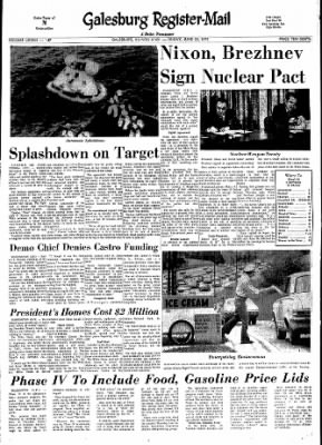 Galesburg Register-Mail from Galesburg, Illinois on June 22, 1973 · Page 1