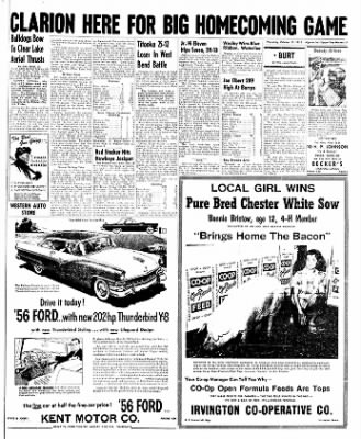 The Algona Upper Des Moines from Algona, Iowa on October 13, 1955 · Page 15