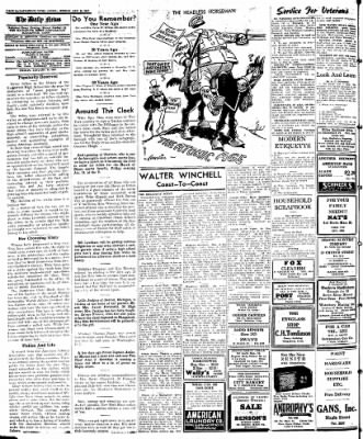 Naugatuck Daily News from Naugatuck, Connecticut on January 24, 1947 · Page 8