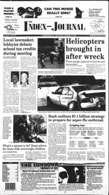 The Index-Journal from Greenwood, South Carolina on November 2, 2005