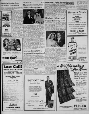 Arlington Heights Herald From Illinois On May 23 1947 Page 11