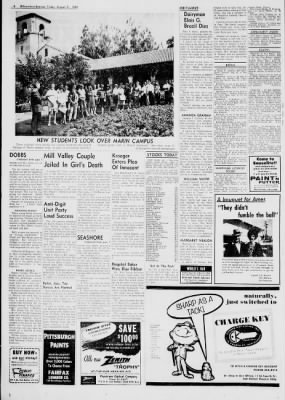 Daily Independent Journal from San Rafael, California on August 31, 1962 · Page 4