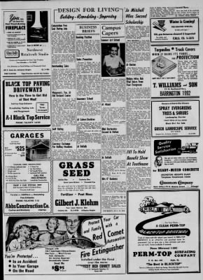 Heights Herald From Arlington Illinois On August 23 1956