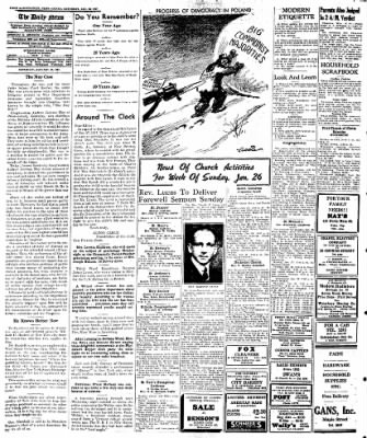 Naugatuck Daily News from Naugatuck, Connecticut on January 25, 1947 · Page 4