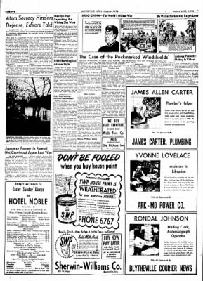 The Courier News from Blytheville, Arkansas on April 16, 1954 · Page 2