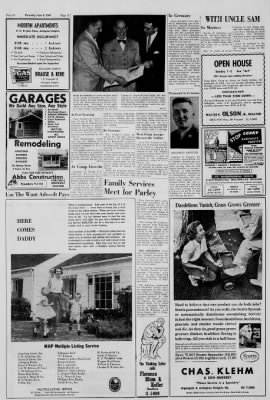 Arlington Heights Herald From Illinois On June 9 1960 Page 44